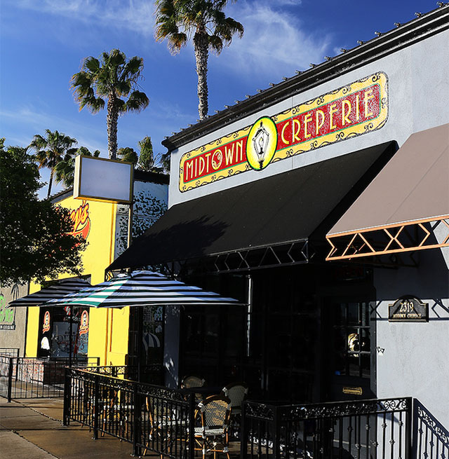 Midtown Creperie new address is 2319 Pacific Ave Stockton, CA